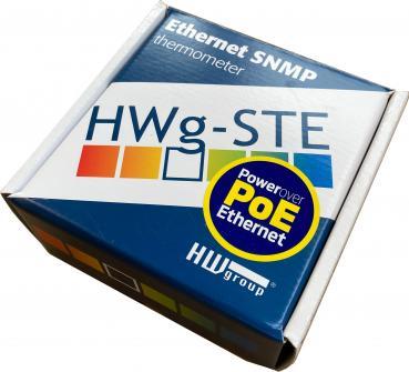 HWg-STE PoE, IP Thermometer, Temperaturüberwachung für bis zu 2 Sensoren