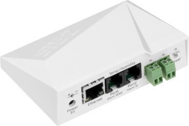HWg-STE2 R2 PoE, 600753, IP Thermometer, 3m Temperatursensor - STE2 Facelift