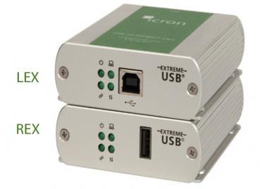 ICRON Ranger 2301GE-LAN Set, USB 2.0, 1-Port, 100m, CATx IP