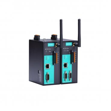 1 -port RS-232/422/485 wireless device server with 802.11a/b/g /n WLAN, 4DI, 2D