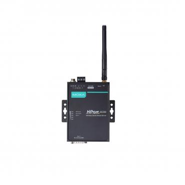 1 Port Wireless Device Server, 3-in-1, 802.11 a/b/g WLAN, 12-48 VDC, -40 to 75?