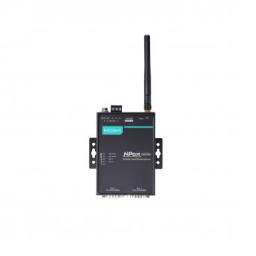 1 Port Wireless Device Server, 3-in-1, 802.11a/b/g/n WLAN?US band, 12-48 VDC, 0