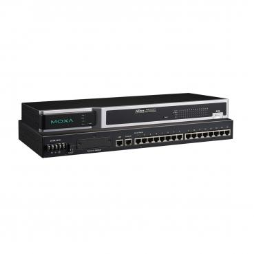 16 ports RS-232 secure device server, 48VDC