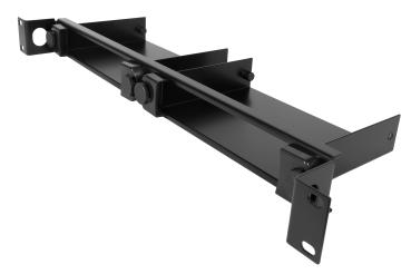 1U - 19 inch rack mount kit for two XD150,XD150FX, XDIP, DDX USR, iPEPS+ units