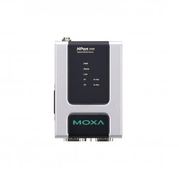 2 ports RS-232/422/485 secure device server, single mode Ethernet with SC conne