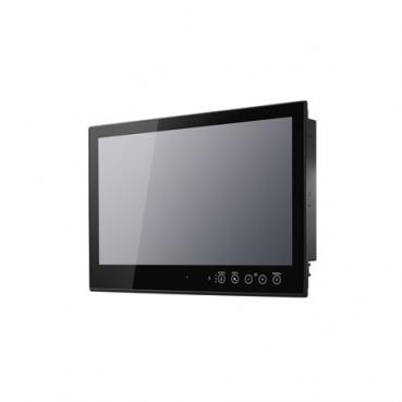 24 inch fanless panel computer with Intel Core i7 processor 3517UE 1.50GHz CPU,