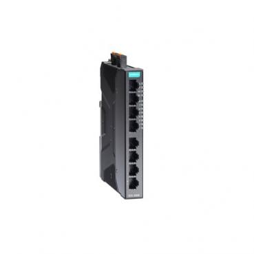 Compact industrial smart Ethernet switch system with 8-port of fast Ethernet in