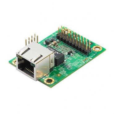 Embedded device server for TTL devices, up to 230.4Kbps, with RJ45, -40 to 85°C