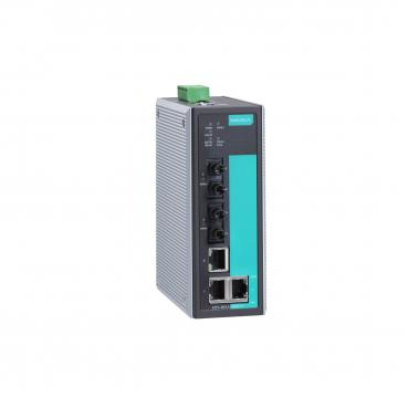 Entry-level Industrial Managed Ethernet Switch with 3 10/100BaseT(X) ports, 2 m