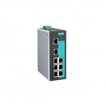 Entry-level managed Ethernet switch with 8 10/100BaseT(X) ports, -10 to 60°C op