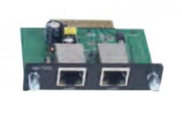 Ethernet module with 2 10/100BaseTX port with RJ45 connector