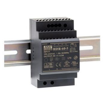 HDR-60-24 Mean Well 60 W/2.5 A DIN-rail 24 VDC power supply