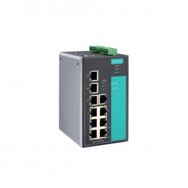 Industrial Gigabit Managed Ethernet Switch with 7 10/100BaseT(X) ports, 3 10/10