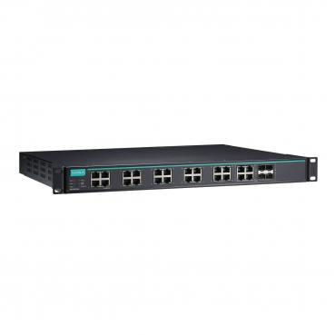 Layer 2 Full Gigabit managed Ethernet switch with 20 100/1000BaseSFP slots and