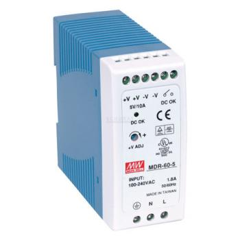 MDR-60-24 Mean Well 60W/2.5A DIN-Rail 24V VDC power supply