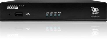 Single Link with POE HDMI & USB Extender over IP INC RED POWER CABLE