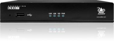 Single Link with POE HDMI & USB Extender over IP with PSU and UK power lead