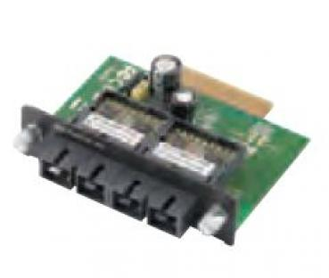 Two 100BaseFx multi mode Ethernet with SC connector module