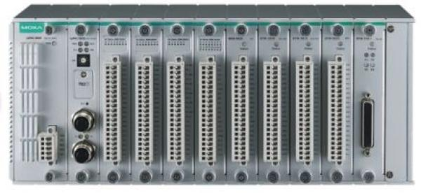 ioPAC 8600 backplane modules with 12 I/O slots, -40 to 75°C operating temperatu