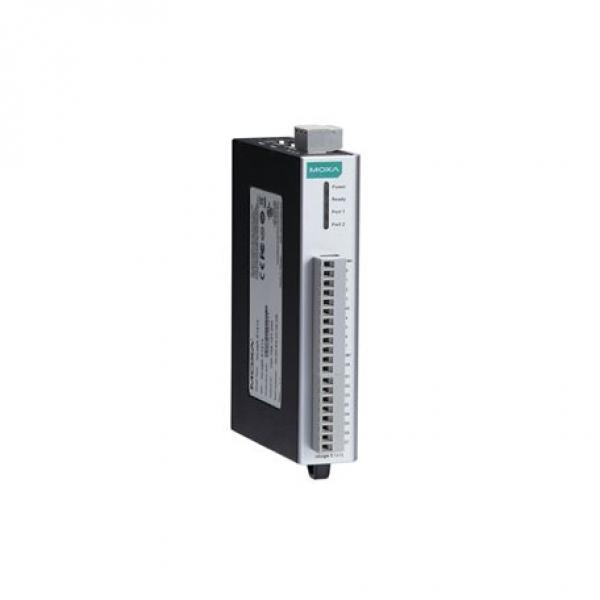 Remote Ethernet I/O, 6DI/6Relay, 2-port Switch, -40 to 75°C